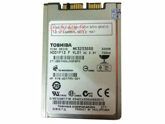 MK3233GSG, HDD1F13, 601795-001