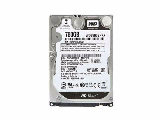WD7500BPKX, WD7500BPKX-00HPJT0