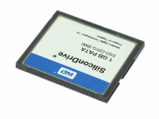 WD SiliconDrive 1GB CF CARD  PATA   compactflash momery card