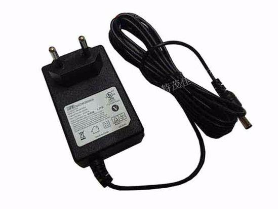 APD / Asian Power Devices WA-24K24FG AC Adapter 20V & Above 24V 1A,  5 5/2 5mm, EU 2P Plug, New