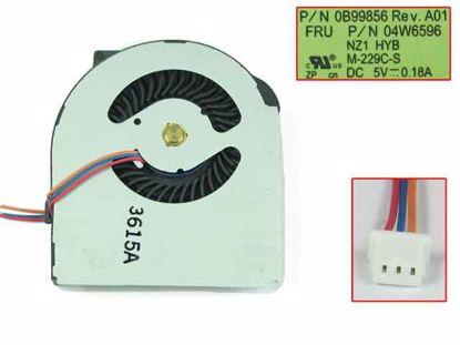 DC5V 0 25A heatsink fan 45N5908AA, 45M2722, MCF-229PAM05 Lenovo