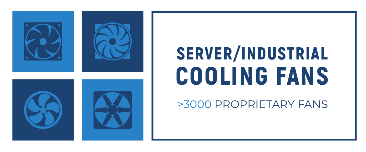 Server & Industrial Cooling Fans
