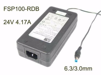 Zebra FSP100-RDB AC Adapter 20V & Above 24V 4.17A, 6.3/3.0mm, C14