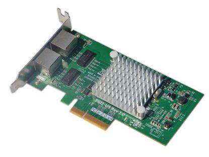 Picture of Intel I350-T2  Server-Card & Board I350AM2, PCI-E 4X
