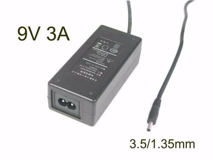Picture of PCH OEM Power AC Adapter 5V-12V 9V 3A, 3.5/1.35mm, 2-Prong, New