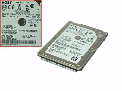 """Picture of Hitachi HTS541010A9E680 HDD 2.5"""" SATA 1TB - 3TB 1TB, 2.5"""" SATA, 5,400rpm, 8M"""