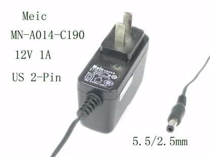 Picture of Meic MN-A014-C190 AC Adapter 5V-12V MN-A014-C190