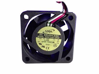 Picture of ADDA AD0412UB-C7FGP Server-Square Fan AD0412UB-C7FGP, G