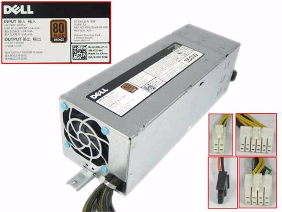 Picture of Dell Common Item (Dell) Server - Power Supply 350W, D350E-S3, DPS-350AB-28 A, 0V13CW