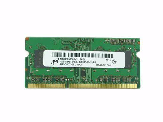 Picture of Micron MT8KTF51264HZ-1G6E1 Laptop DDR3L-1600 4GB, DDR3L-1600, PC3L-12800S, MT8KTF51264HZ-1G6E1,