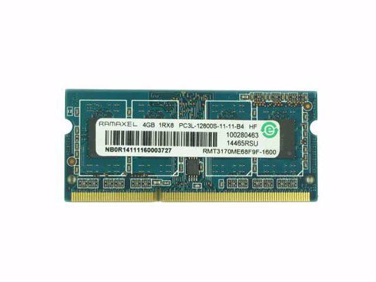 Picture of RAMAXEL RMT3170ME68F9F-1600 Laptop DDR3L-1600 4GB, DDR3L-1600, PC3L-12800S, RMT3170ME68F9F-1600,