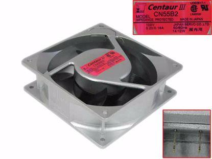 Picture of Japan Servo CN55B2 Server - Square Fan AC 100V 0.23A, 120x120x38mm, 3-pin