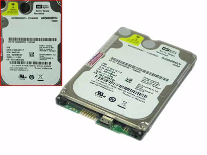 "Picture of Western Digital WD5000BMVV HDD 2.5"" USB 2.0 WD5000BMVV-11GNWS0"