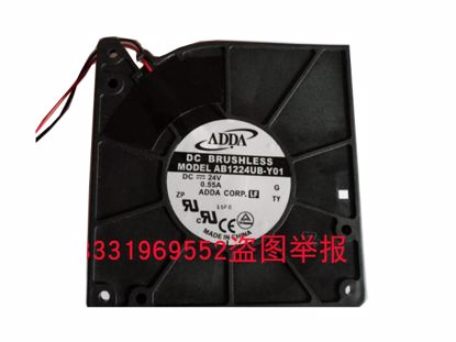 Picture of ADDA AB1224UB-Y01 Server-Blower Fan AB1224UB-Y01, G