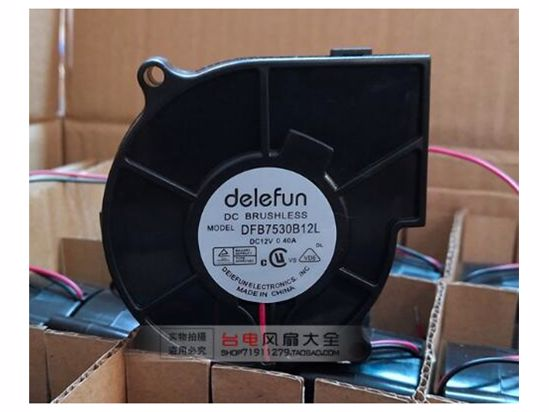 Picture of Delefun DFB7530B12L Server-Blower Fan DFB7530B12L