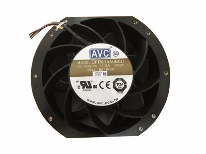 Picture of AVC DFPA15A0B8U Server-Round Fan DFPA15A0B8U, Y001, Alloy Framed