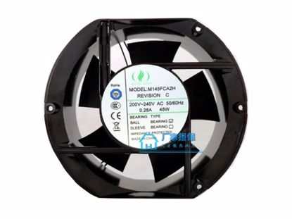 Picture of MUTUAL MOTOR M145FCA2H Server-Round Fan M145FCA2H, Alloy Framed