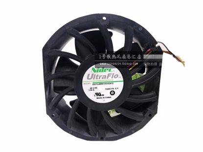 Picture of Nidec XV17L48BS1A5-02A12 Server-Round Fan XV17L48BS1A5-02A12, 7320G PA E.P., Alloy Framed