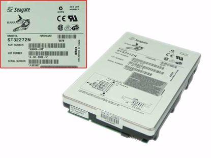 """Picture of Seagate ST32272N HDD 3.5"""" SCSI 1.2GB-10GB 2GB, 3.5"""" SCSI, 5,400rpm, 2M, Z401"""