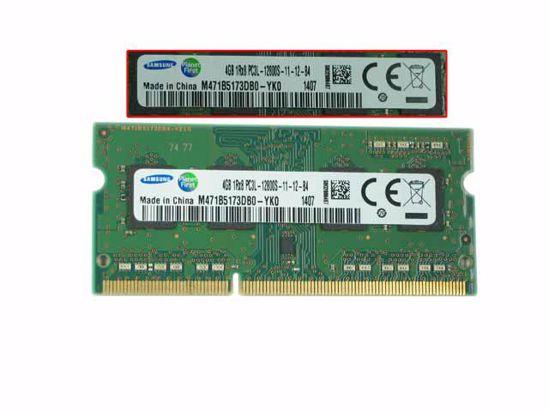 Picture of Samsung M471B5173DBO-YK0 Laptop DDR3L-1600 4GB, DDR3L-1600, PC3L-12800S, M471B5173DBO-YK0, La