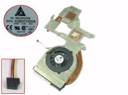 Picture of Medion Akoya P6612 Cooling Fan  60.4AF12.004, 5V, KSB05105HA, -8C31,Heatsink fan