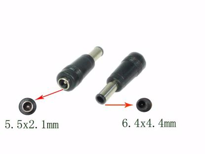 Picture of PCH For Laptop DC Tip Converter 5.5x2.1mm To Fujitsu 6.4x4.4mm Plug With Pin, Stra