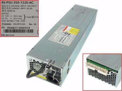 Picture of Xyratex SPAXRTX-03G Server - Power Supply 355W, SPAXRTX-03G, RS-PSU-350-1220-AC, 83712-01