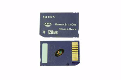 Picture of Sony MS DUO128MB Stick-Memory Stick Duo 128MB MS DUO