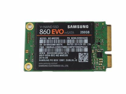 Picture of Samsung 860EVO SSD mSATA 140GB - 512GB 860EVO, MZ-M6E250