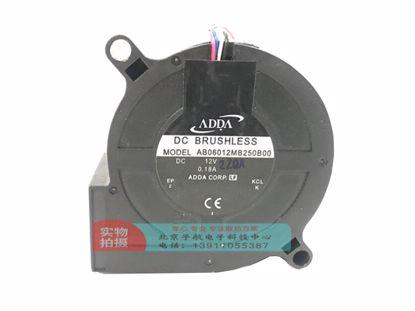 Picture of ADDA AB06012MB250B00 Server-Blower Fan AB06012MB250B00