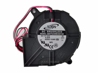 Picture of ADDA AB07524MB300100 Server-Blower Fan AB07524MB300100, ZD