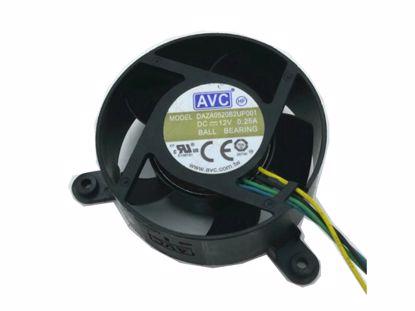 Picture of AVC DAZA0520B2UP001 Server-Round Fan DAZA0520B2UP001